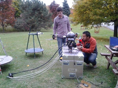 REASEARCHES WITH CANADIAN PARTNER - DOLANG-GEOPHYSICAL