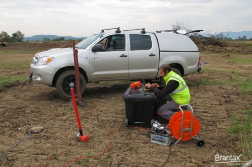 Field acquisition with DBS280B - DOLANG-GEOPHYSICAL